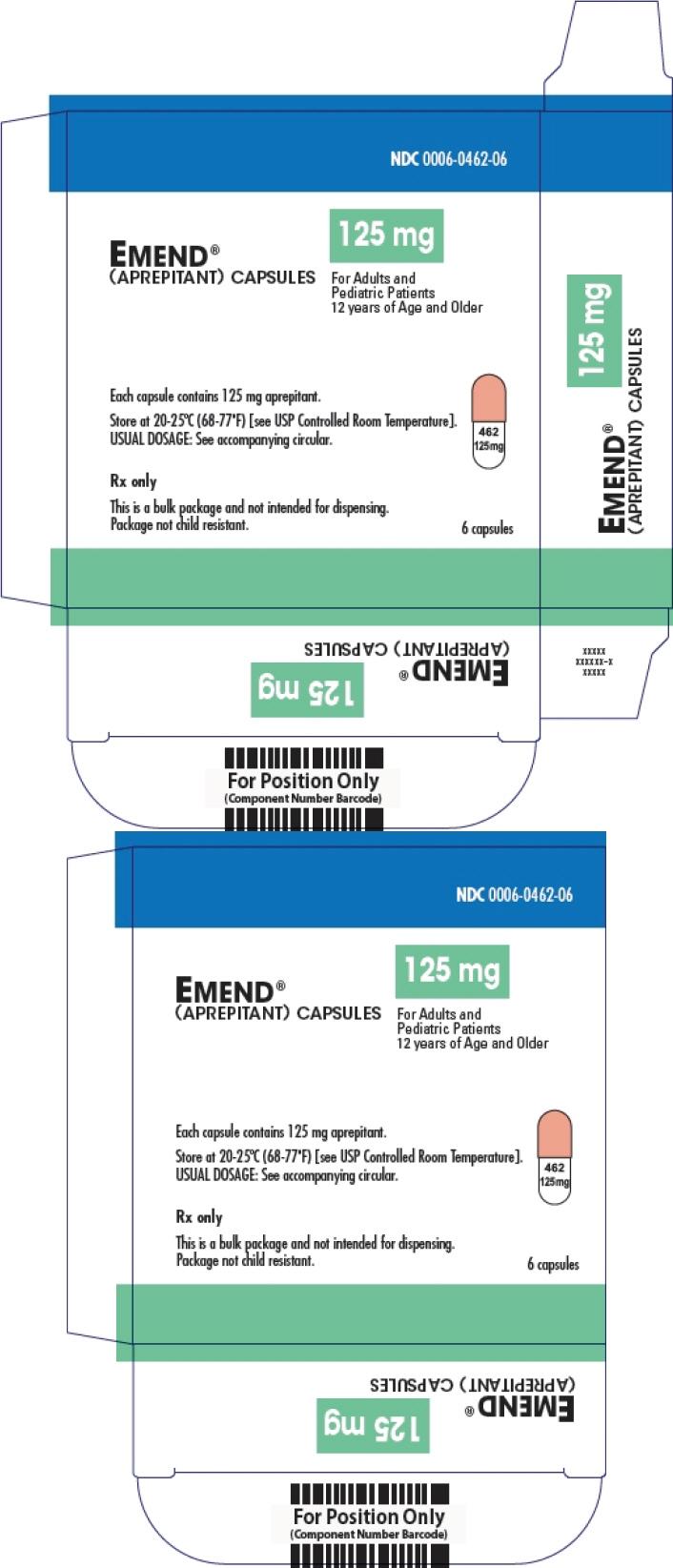 PRINCIPAL DISPLAY PANEL - 125 mg Capsule Carton