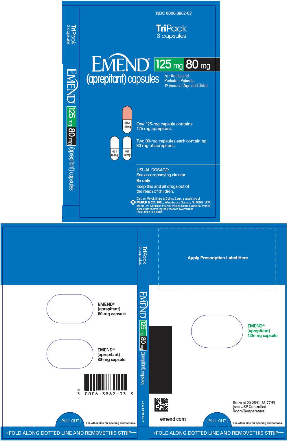 PRINCIPAL DISPLAY PANEL - 3 Capsule Kit Carton