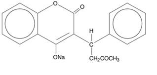 warfarin-structure