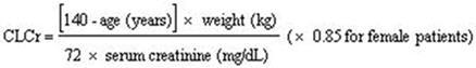 pregabalin-equation