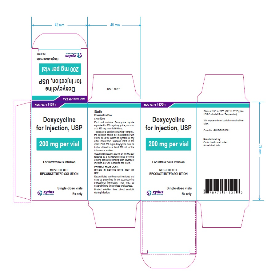 200 mg per vial Carton Label