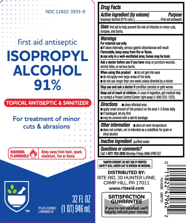 Isopropyl Alcohol (91% conc.)