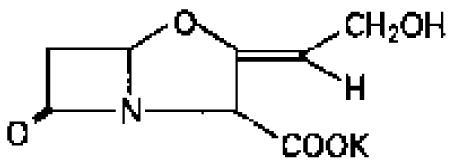 Clavulanate structure