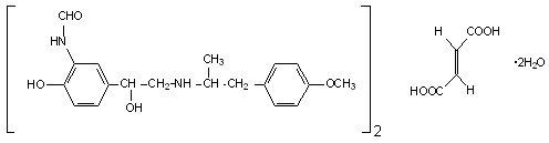 Formoterol Fumarate Structural Formula