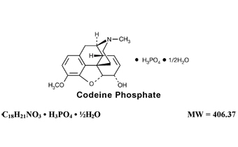 Codeine Phosphate Chemical Structure