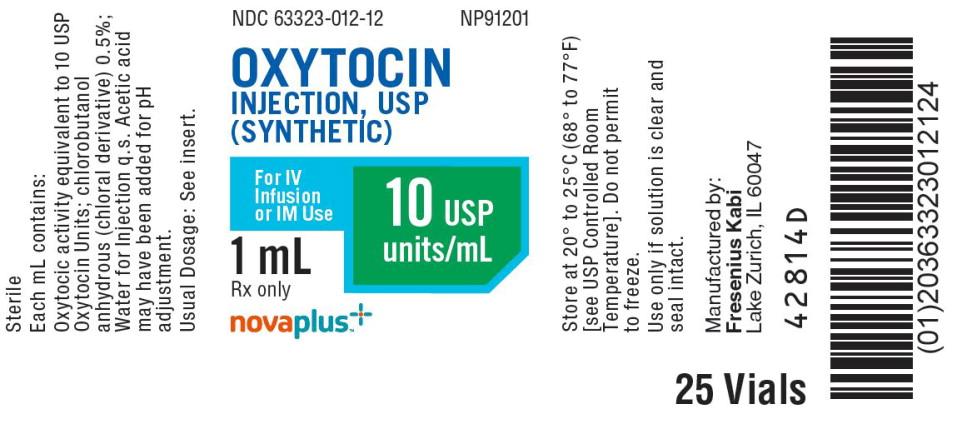PACKAGE LABEL - PRINCIPAL DISPLAY - Oxytocin 1 mL Vial Tray Label