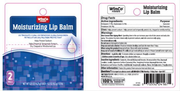 Winco SPF 15 Moisturizer Lip Balm Twin Pack