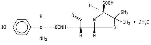 amoxiciilin structure