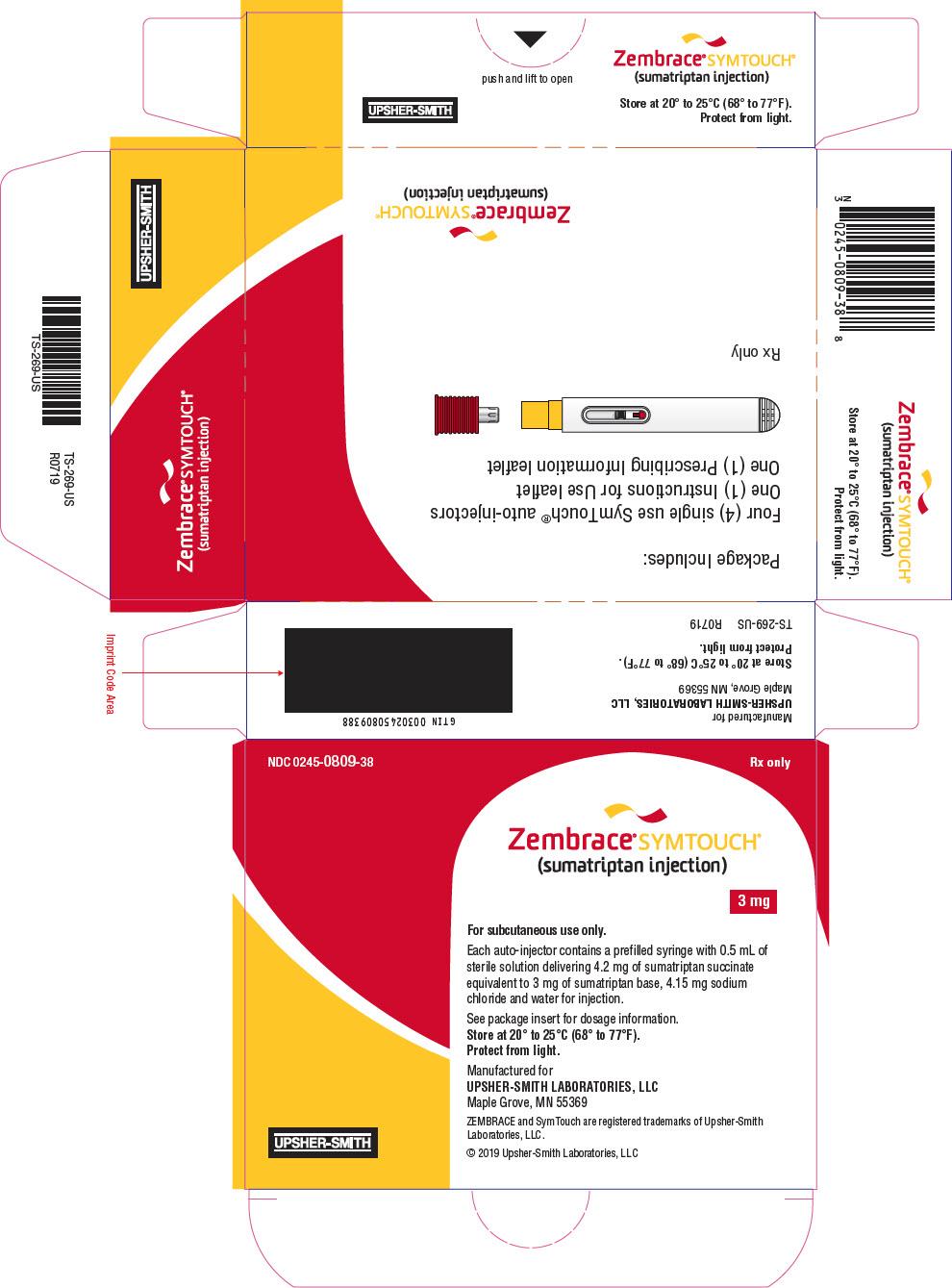 PRINCIPAL DISPLAY PANEL - 3 mg Syringe Carton
