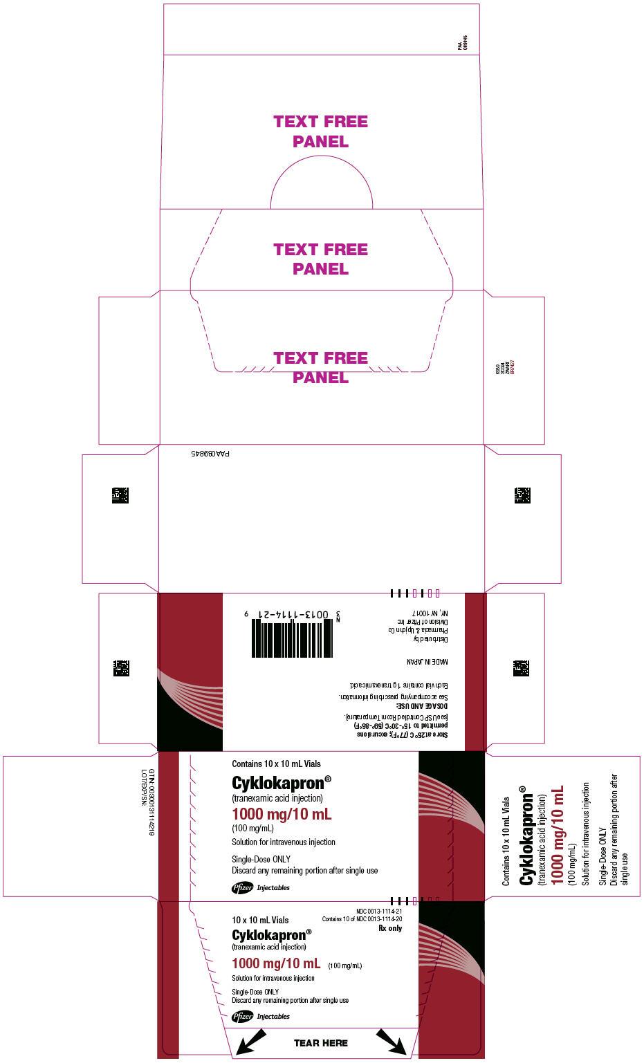 PRINCIPAL DISPLAY PANEL - 10 mL Vial Box