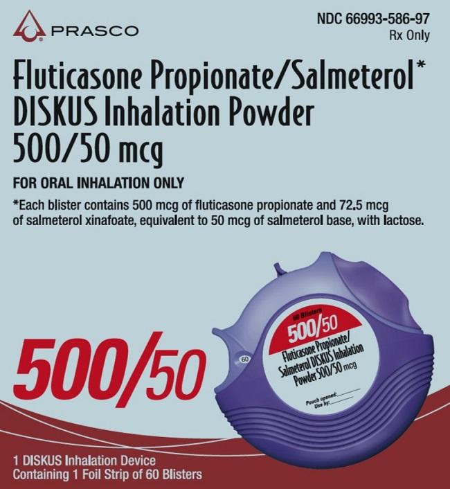 Fluticasone Propionate And Salmeterol Diskus Fluticasone Propionate And Salmeterol Powder