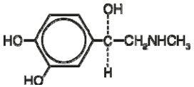 Epinephrine Structural Formula