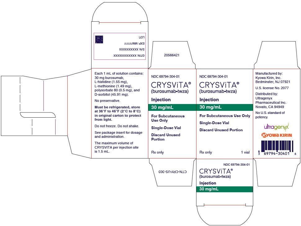 PRINCIPAL DISPLAY PANEL - 30 mg/mL Vial Carton