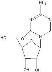 Azacitidine Structural Formula
