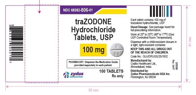 Trazodone Hyadrochloride Tablets, USP