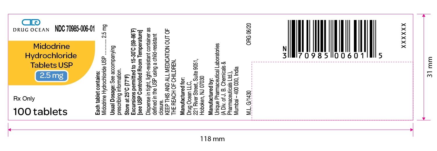 Midodrine-HCl-Tablets-USP-2.5mg-100ct