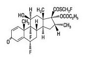 fluticasone propionate chemical structure