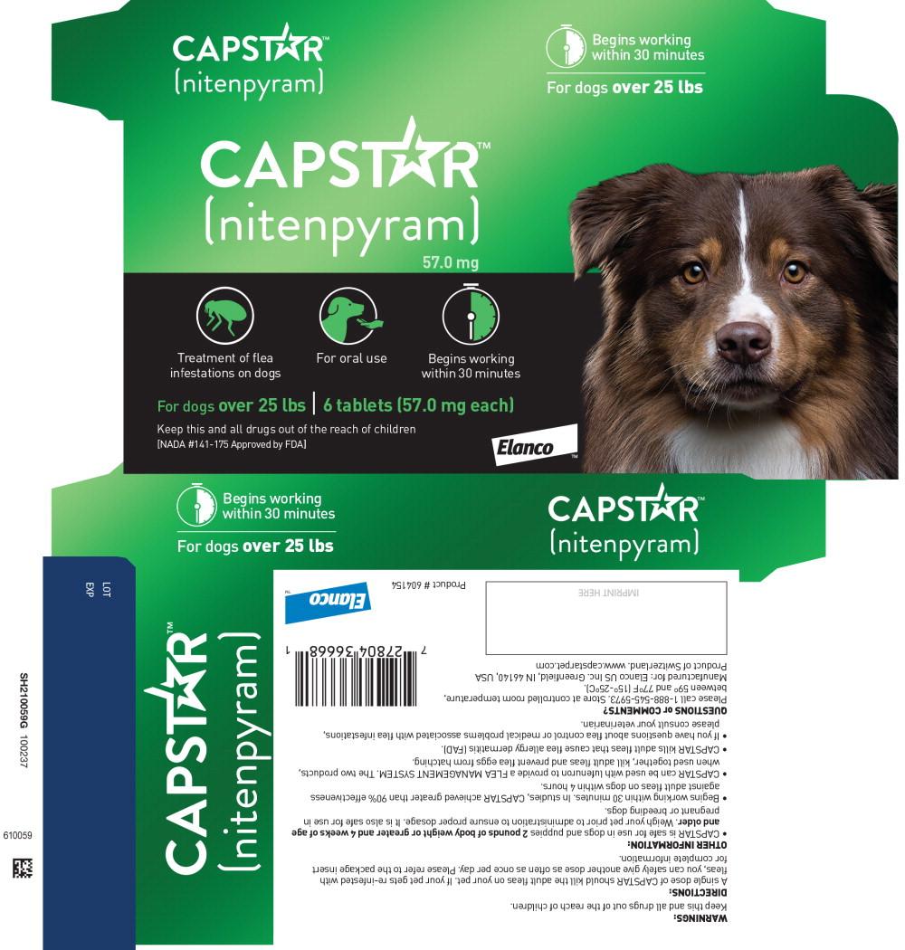 Principal Display Panel - 57.0 mg Dog Carton Label