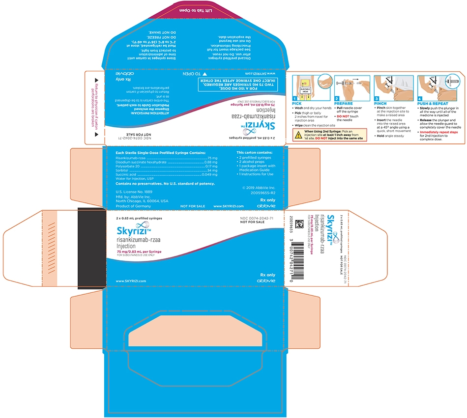 20059655 Skyrizi Syringe Sample Carton