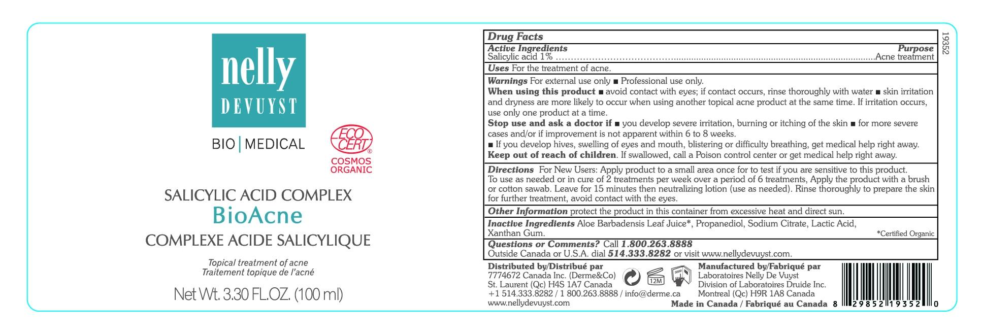 Salicylic Acid Complex BioAcne Peel 100mL