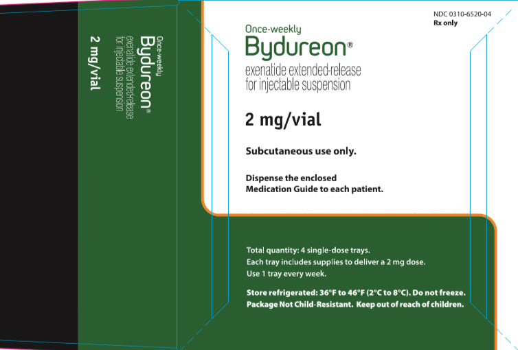 Bydureon Once-Weekly 2 mg/vial  carbon