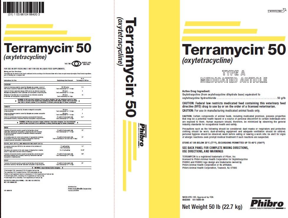 Terramycin 50