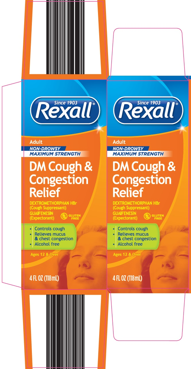 Rexall DM Cough & Congestion Relief Image 1
