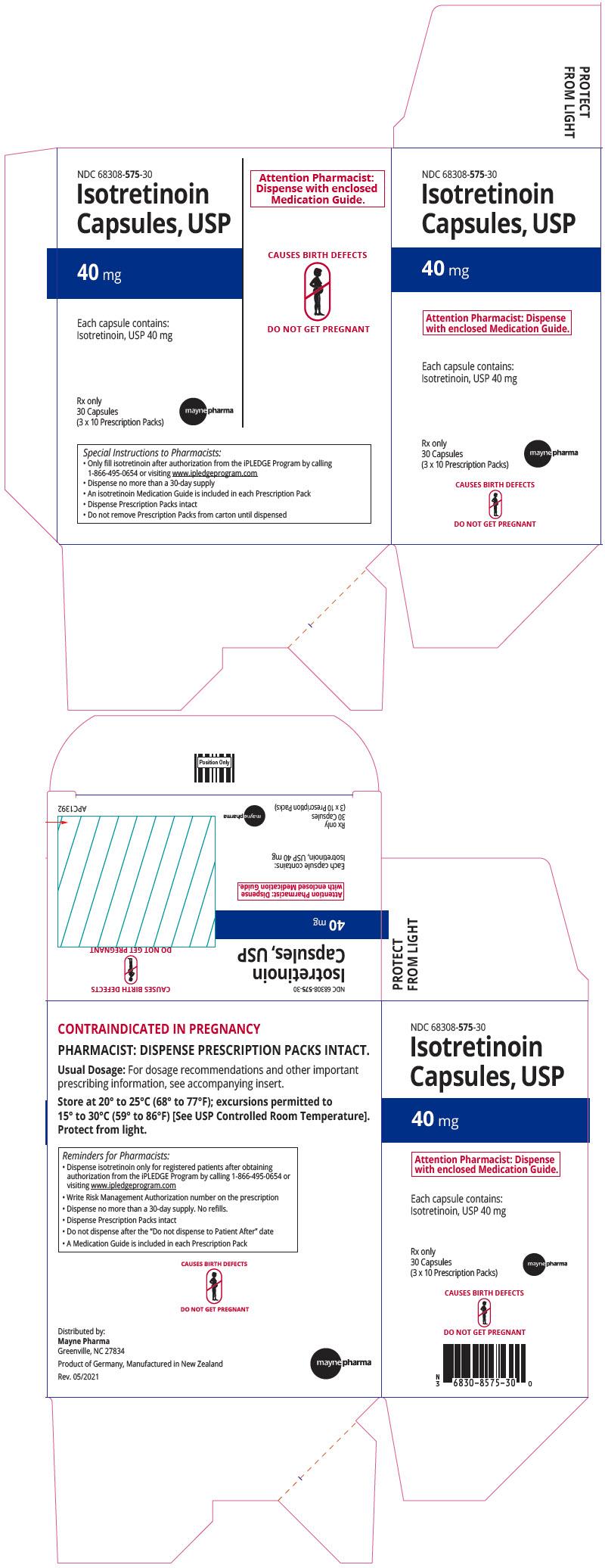 PRINCIPAL DISPLAY PANEL - 40 mg Capsule Prescription Pack Carton