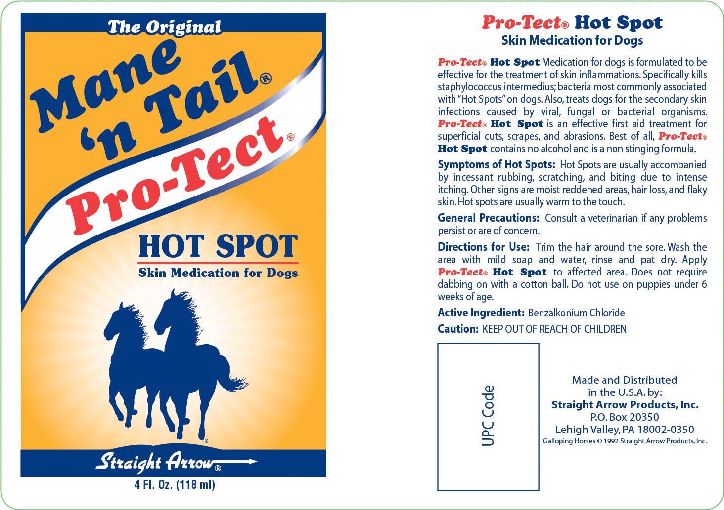 Pro-Tect AM Hot Spot Label