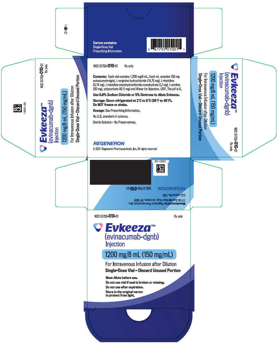 PRINCIPAL DISPLAY PANEL - 1200 mg/8 mL Vial Carton