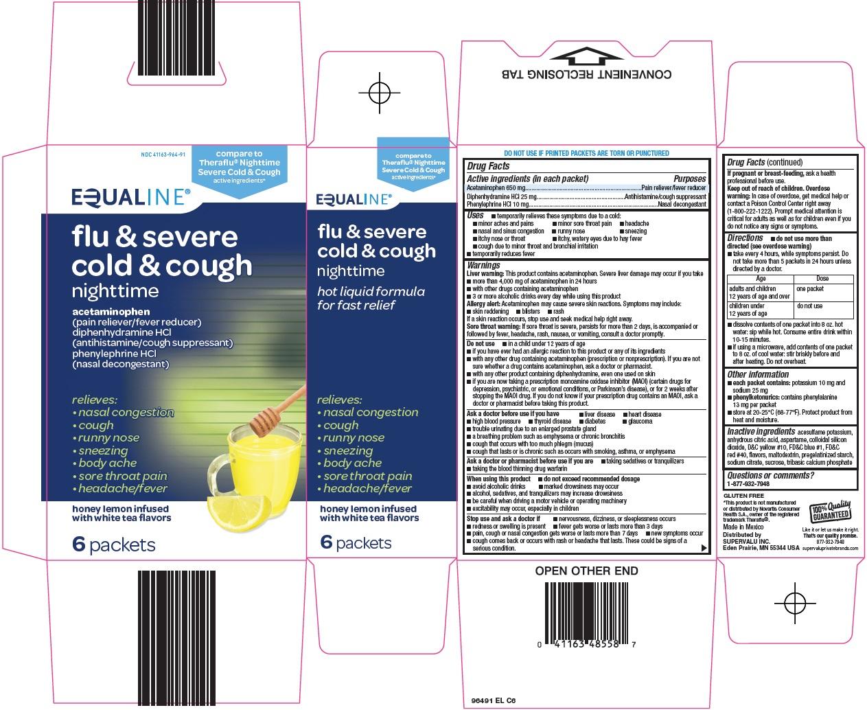 Flu & Severe Cold & Cough Carton