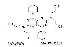 Structural-formula-of-Dipyridamole