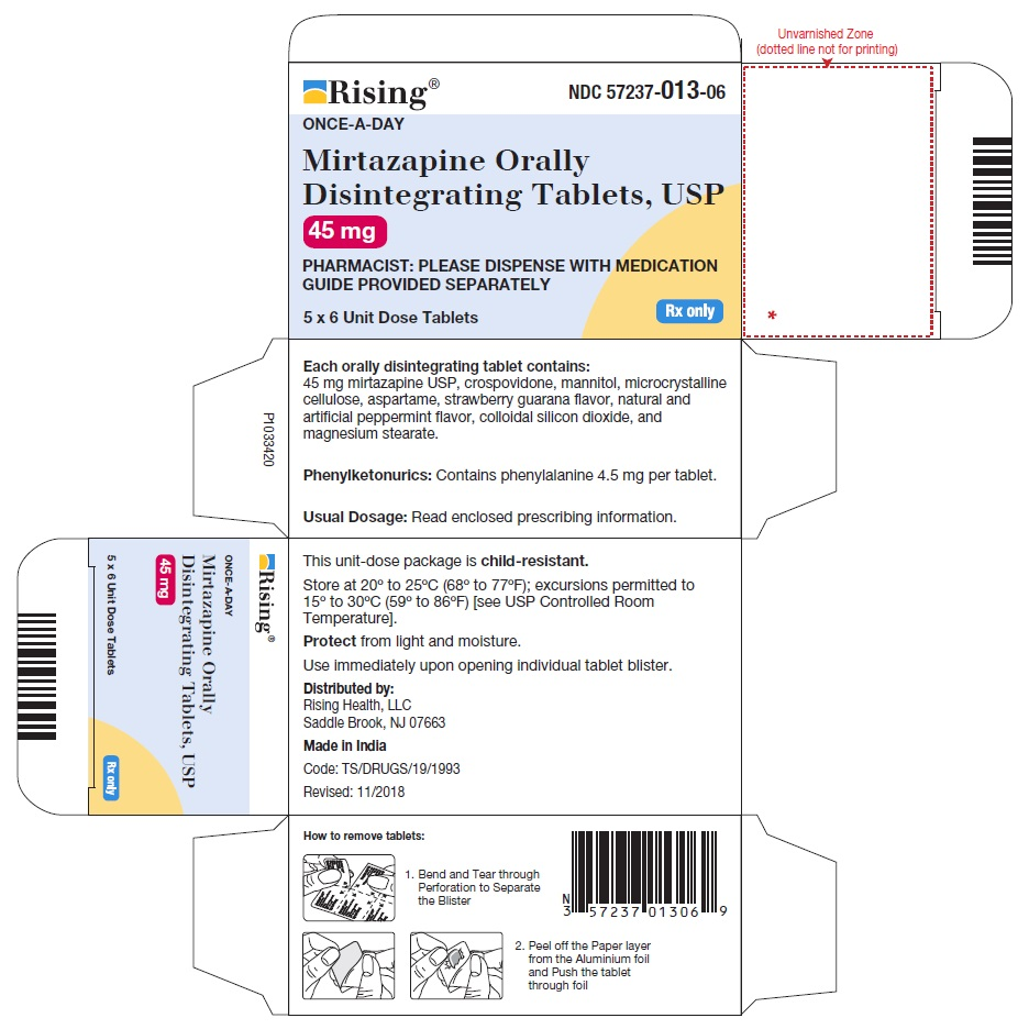 PACKAGE LABEL-PRINCIPAL DISPLAY PANEL - 45 mg Blister Carton (5 x 6 Unit-dose)