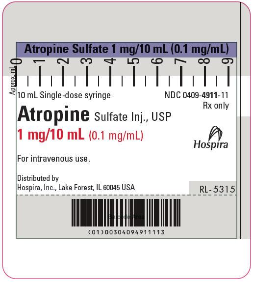 Syringe Label