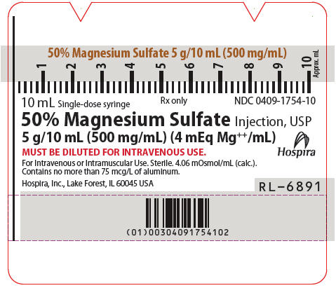 Syringe Label