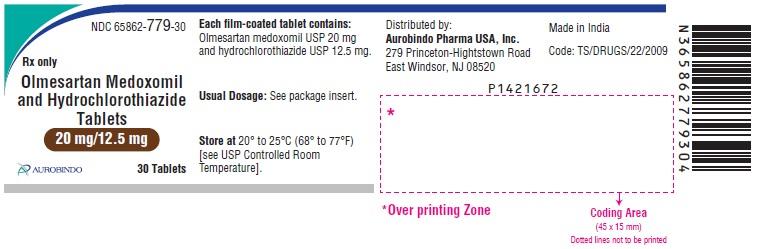 PACKAGE LABEL-PRINCIPAL DISPLAY PANEL - 20 mg/12.5 mg (30 Tablets Bottle)