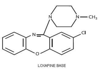 loxapine-molec-structure