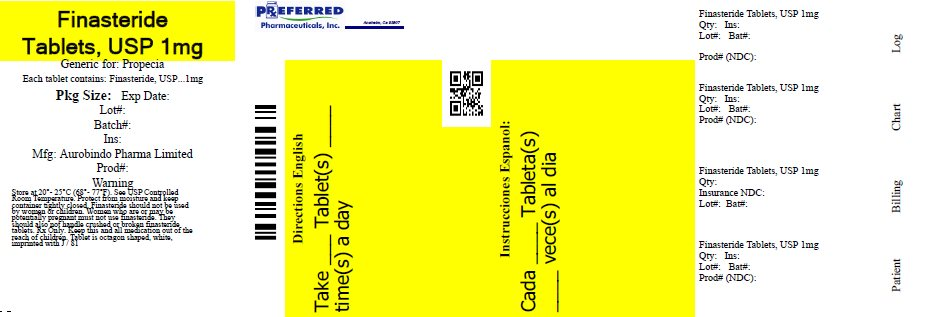Finasteride Tablets, USP 1mg