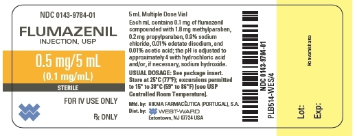 5 mL Vial Label