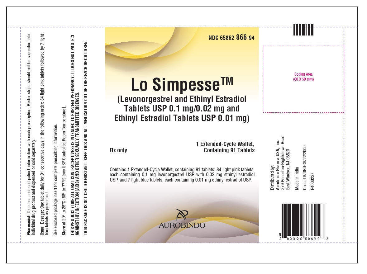 PACKAGE LABEL-PRINCIPAL DISPLAY PANEL - 0.1 mg/0.02 mg and 0.01 mg (91 Tablets Pouch)