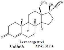 Levonorgestrel Chemical Structure