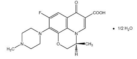 Structure product formula for Levofloxacin
