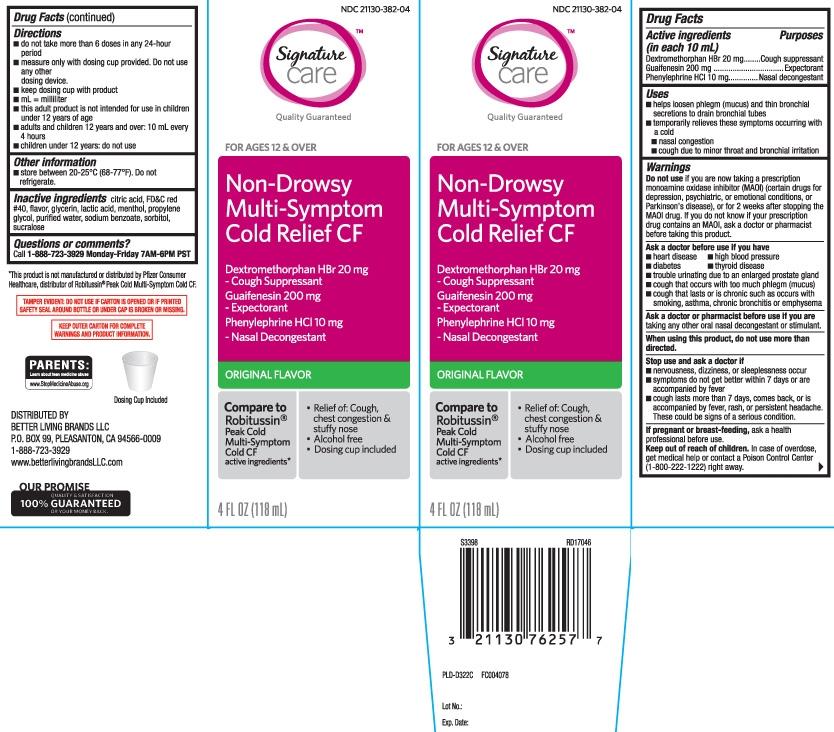 Dextromethorphan HBr 20 mg, Guaifenesin 200 mg, Phenylephrine HCI 10 mg