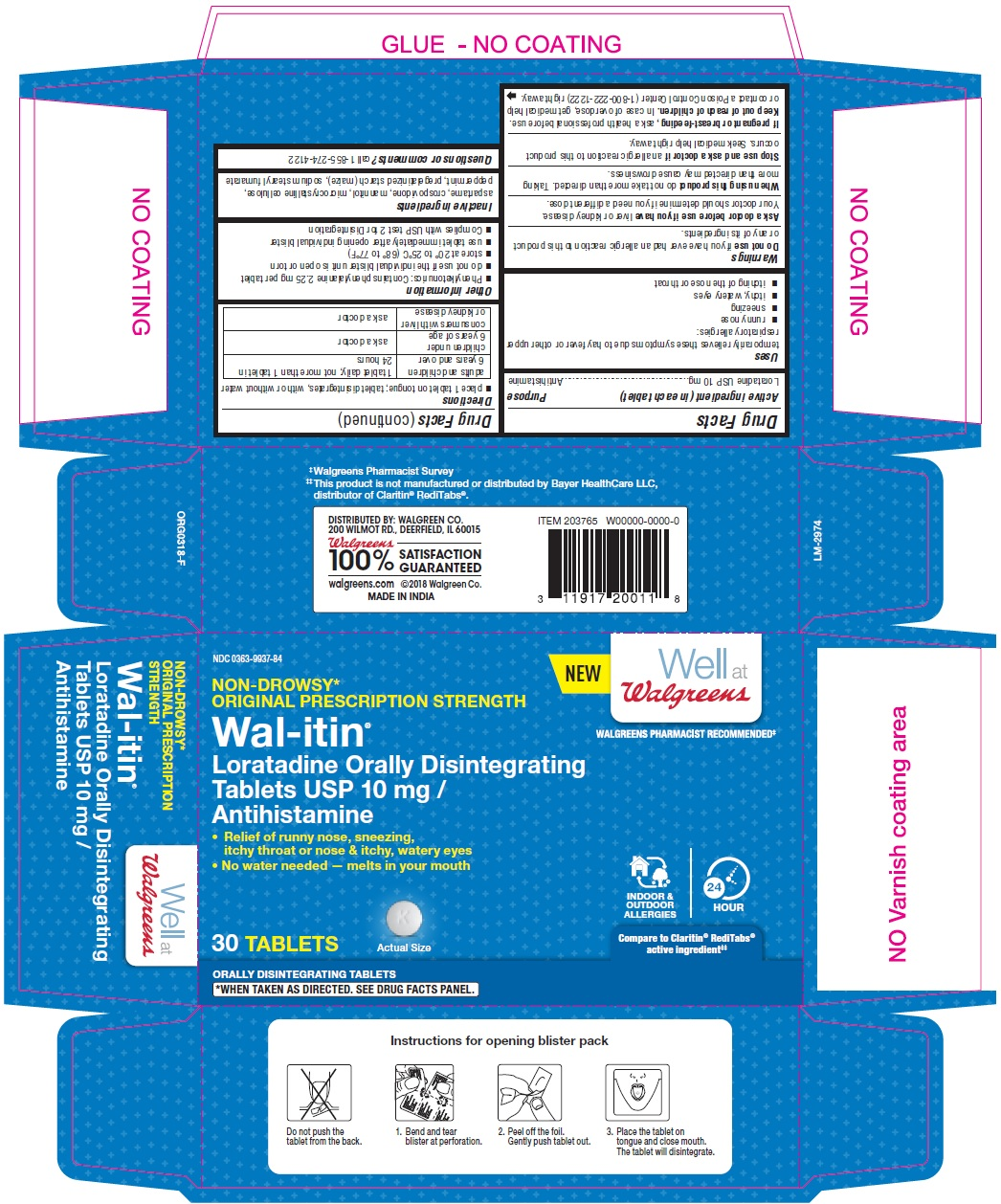 PACKAGE LABEL-PRINCIPAL DISPLAY PANEL - 10 mg, Blister Carton 30 (3 x 10) Orally Disintegrating Tablets