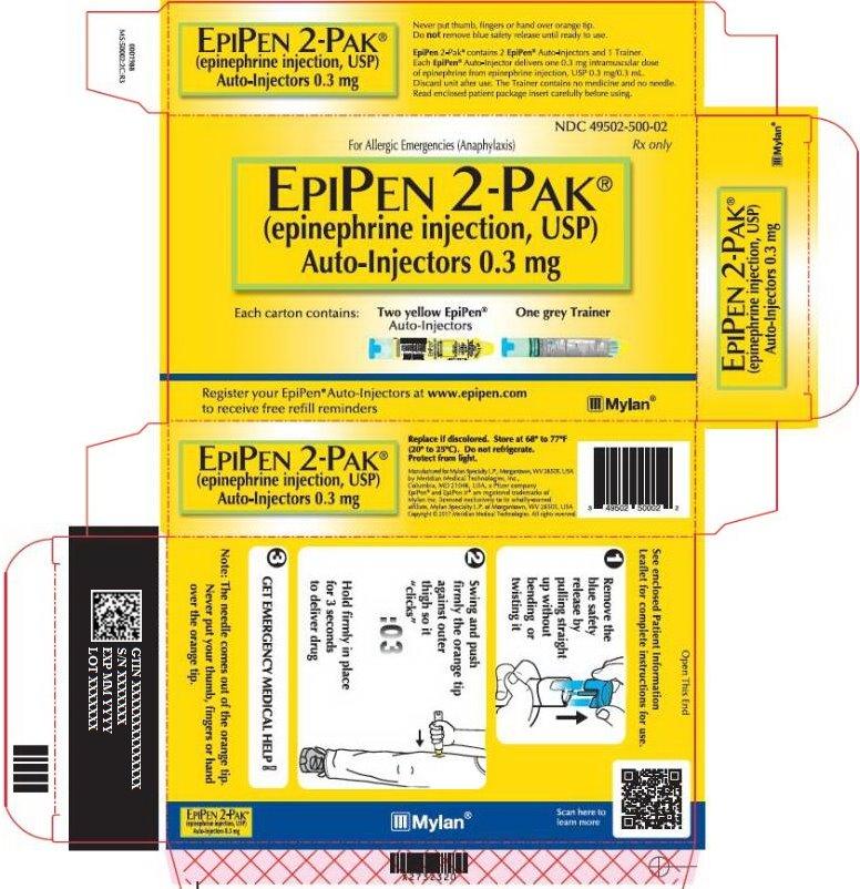 EpiPen 0.3 mg Carton Label