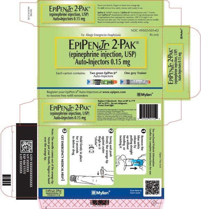EpiPen 0.15 mg Carton Label