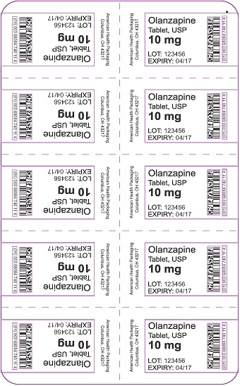 10 mg Olanzapine Tablet Blister