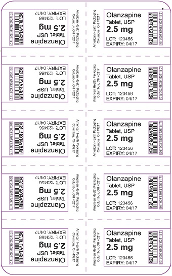 2.5 mg Olanzapine Tablet Blister
