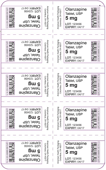 5 mg Olanzapine Tablet Blister