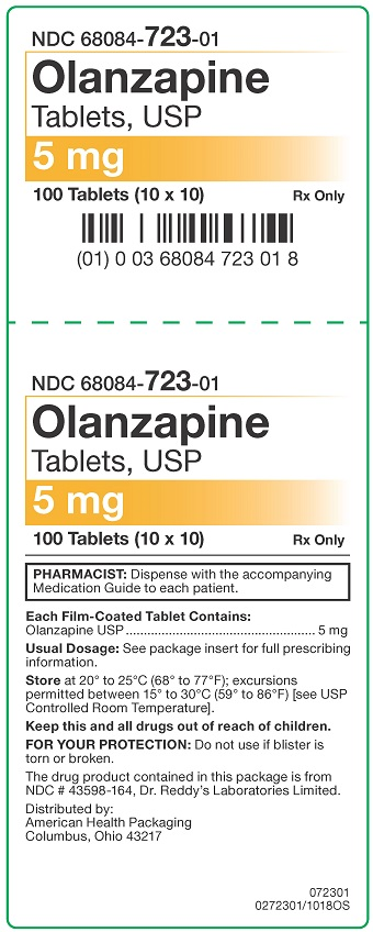 5 mg Olanzapine Tablets Carton